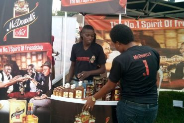 McDowell's Whisky Activation at Igue Festival